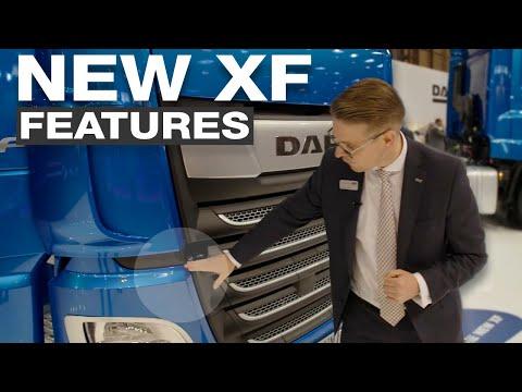 DAF Trucks UK | New XF walk-around with James Turner | 2017 CV Show