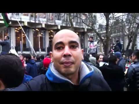 Libya: outside the USA Embassy