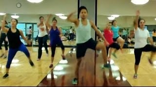 Twerk Like Miley Cyrus-Caked Up Zumba Routine