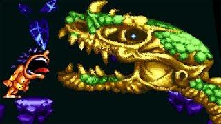 Prehistorik Man (SNES) - All Bosses (No Damage + Ending) 1080p 60FPS