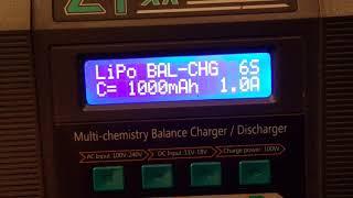 Ev-Peak C1-XR// How to charge a lipo