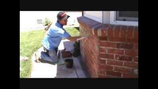 Sealing a brick wall 2nd coat...Part 2