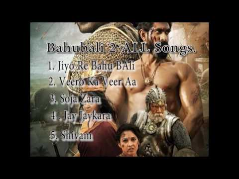 bahubali 2 jukebox hindi songs.