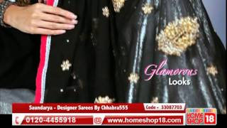 Homeshop18.com - Saundarya - Designer Sarees By Chhabra555 (Pick Any 1)