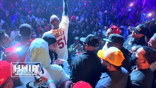 NICK CANNON SHOWS OUT FOR HITMAN HOLLA VS CASSIDY MAX OUT