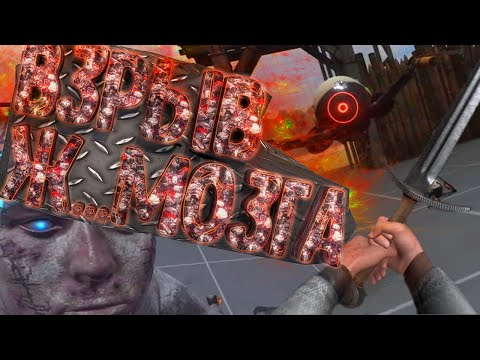 Ну ка тормозни пацанчик - Boneworks VR #2 (Баги, приколы, фейлы)