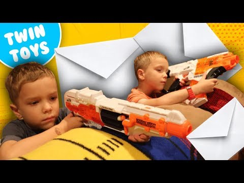 Nerf War:  Mail Time Mayhem 13