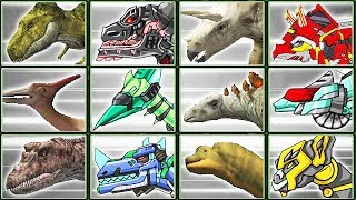 Dino Digger + Dino Robot Corps #1   Eftsei Gaming