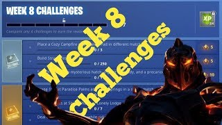 FORTNITE SEASON 8-Waiting for week 8 Challenges to drop !! 25$ Amazon Code giveaway At 500 Subs!!!
