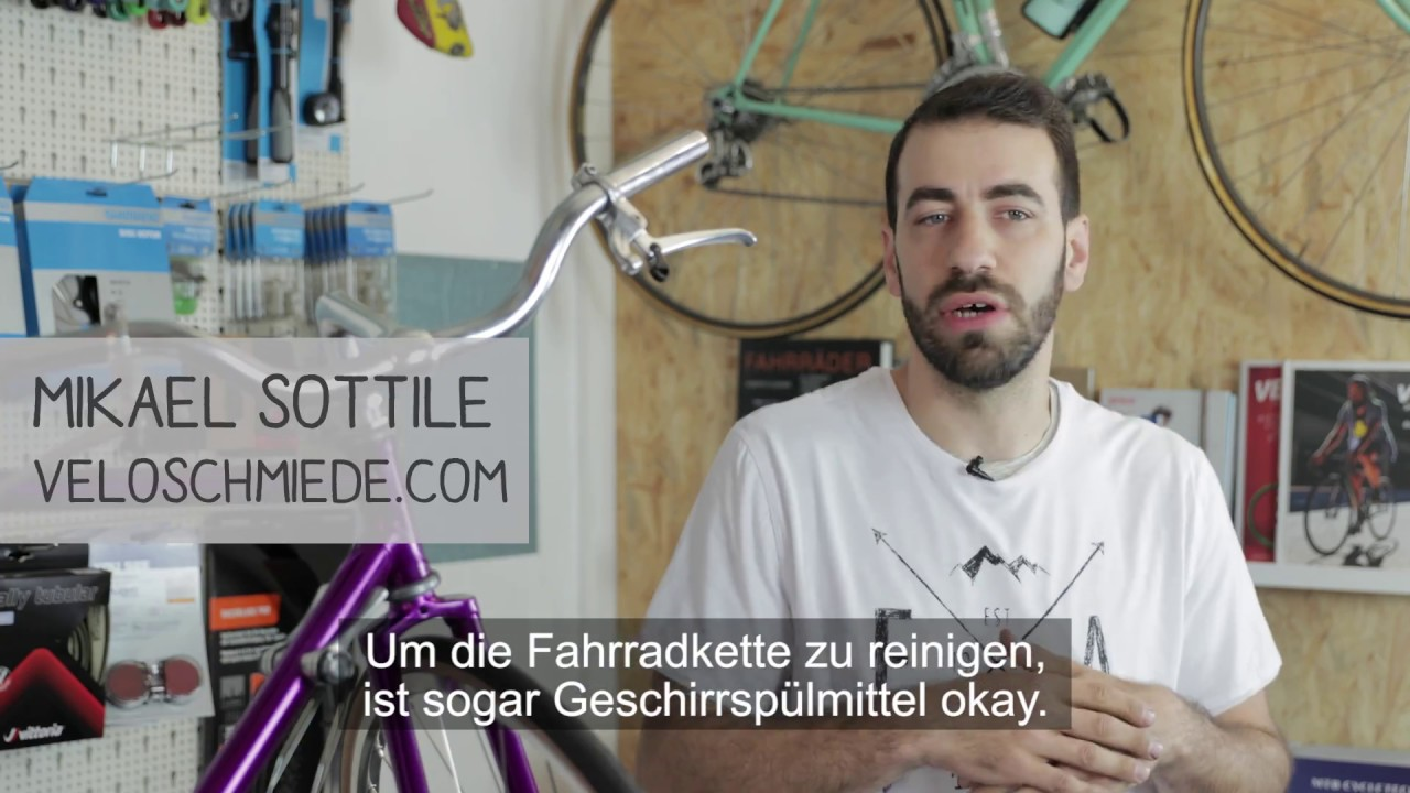 Fahrrad Kette Reinigen : fahrradkette reinigen kein problem youtube ~ Watch28wear.com Haus und Dekorationen