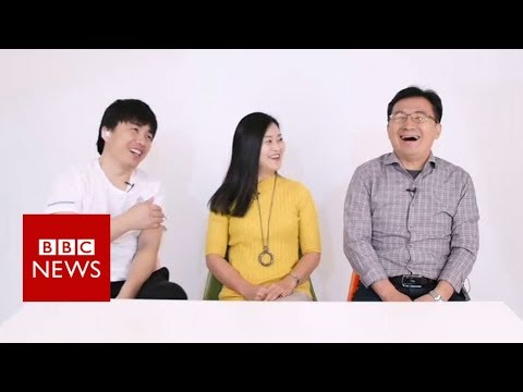 North Korean defectors answer 'stupid questions' - BBC News