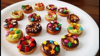 Món Ăn Ngon - BÁNH DONUT MINI, Bánh Donut Tí Hon ngon ngon