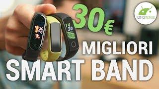 MIGLIORI Smartband a 30 EURO! Samsung Fit e, Mi Band 4, Honor Band 5
