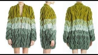 Как Связать Кардиган Лало Спицами для Начинающих? модели 2019 / How to Knit a Cardigan Lalo Spokes