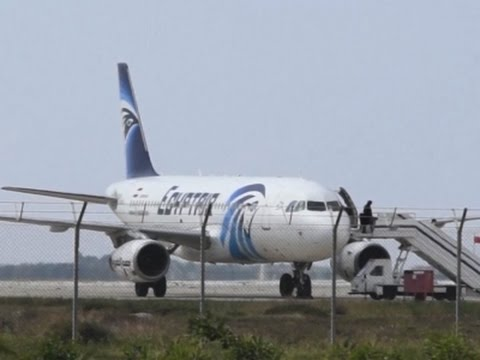 Egypt Plane Hijacking Drama Ends