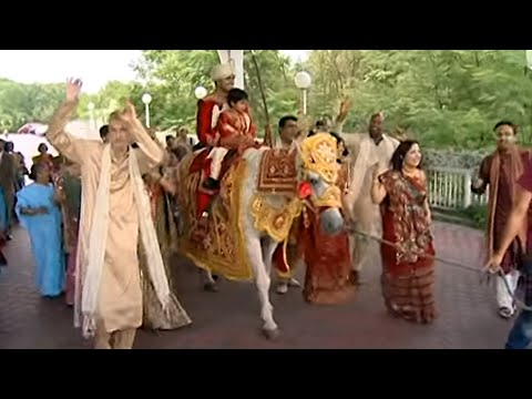 Baraat Procession A Traditional Indian Hindu Wedding Video Toronto Videographer