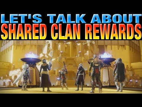 Destiny 2 - Should Shared Clan Rewards For Raids And Trials Exist?