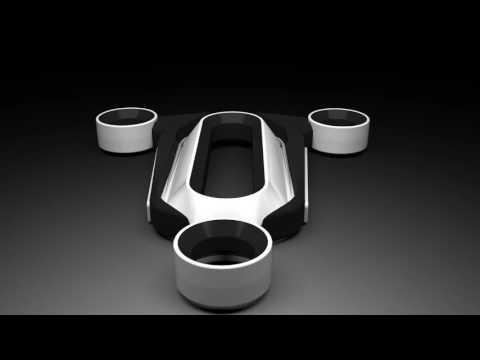 """Méxicano crea dron sin hélices, gana premio de diseño """"Red Dot"""""""