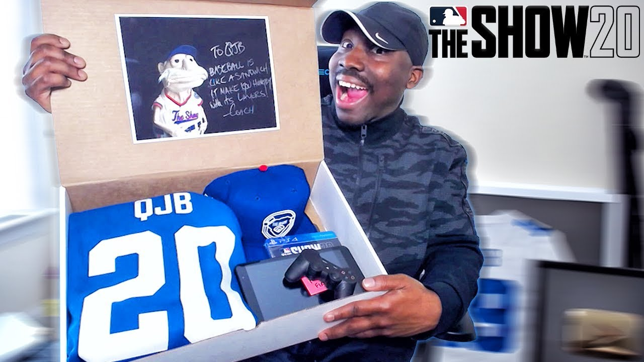 MLB THE SHOW 20 EXCLUSIVE MVP PACKAGE UNBOXING!