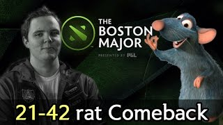 Alliance heritage on Boston Major 21-42 rat Comeback