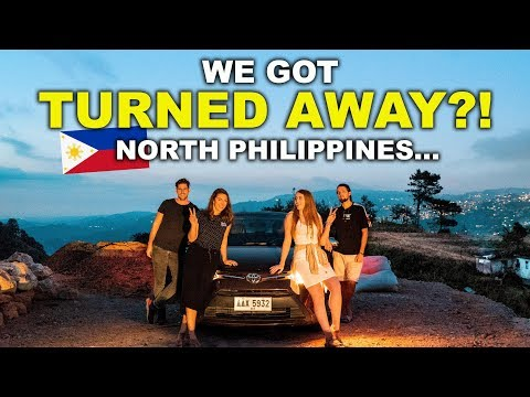 North Philippines, NO TOURISTS ALLOWED?!