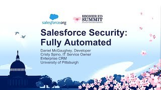 Salesforce Security: Fully Automated