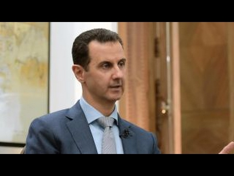 Mixed messages on plans for a regime change in Syria