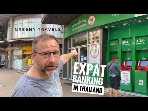 An expat navigating BANKING IN THAILAND.