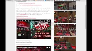 TUTO comment telecharger paint the dowen red