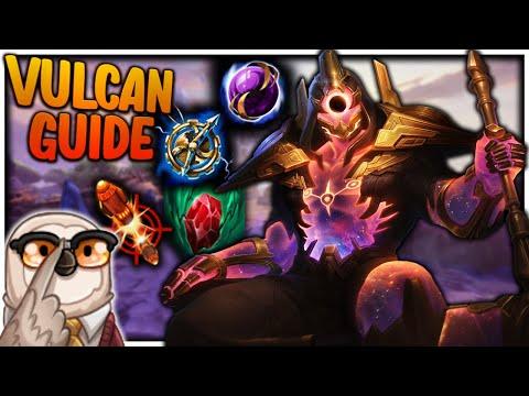 VULCAN GUIDE: PRAY FOR LATE GAME! | Incon | Smite