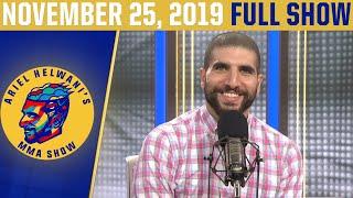 Gina Carano, TJ Dillashaw, Robert Whittaker | Ariel Helwani's MMA Show (Nov. 25, 2019) | ESPN MMA