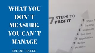What You Dont Measure You Cant Manage
