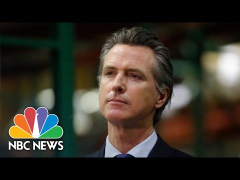 Live: California Gov. Newsom Holds Briefing | NBC News