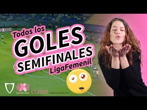 ¡GOLAZO DE CAROLINA JARAMILLO! Resumen Goles Liga MX FEMENIL Semifinales Ida, 2018