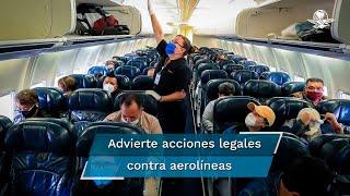 El titular de la Procuraduría Federal del Consumidor, Ricardo Sheffield Padilla, declaró que en los últimos dos o tres meses las aerolíneas decidieron unilateralmente que la tarifa básica no incluye equipaje de mano, pero eso va contra la ley por lo que la Profeco ya trabaja en el tema