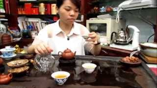 Kung Fu Cha teapot Brewing: Da Hong Pao