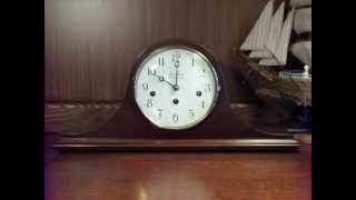 Seth Thomas Tambout Mantel Clock - Westminster Chime