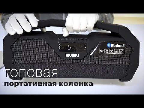 Портативная акустика SVEN PS 470 - громко, недорого, сердито