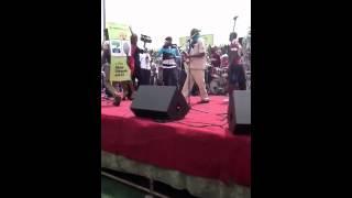 tuface idibia performs at oshiomhole grand rally