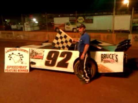 Dan lawson win at laurens speedway