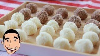 Coconut Balls Recipe | Gluten Free & No Bake Coconut Balls
