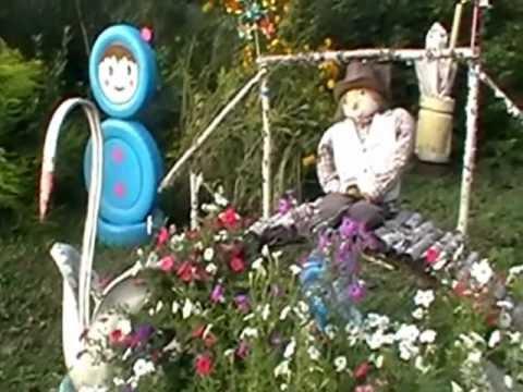 видео: чудо сад. Душевные поделки