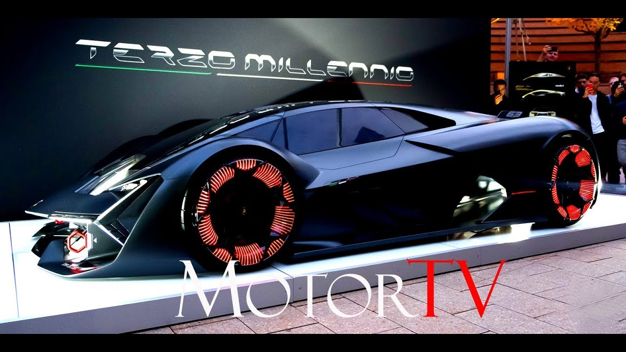 2017 Lamborghini Terzo Millennio L Design Explained Eng Youtube