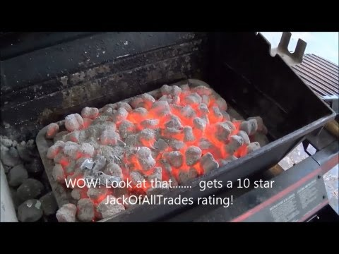 How to get amazing red hot coals for any barbecue - Coal starter review