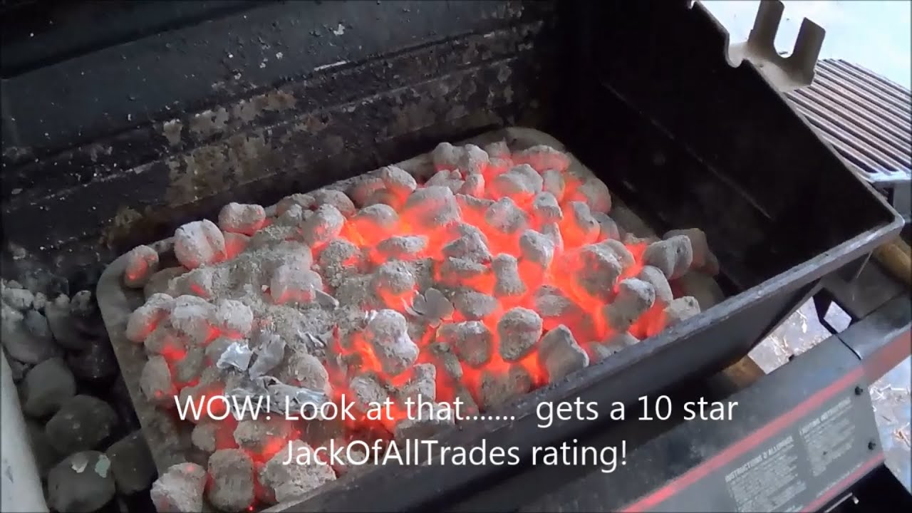 Coal Bbq How To Get Amazing Red Hot Coals For Any Barbecue Coal Starter Review