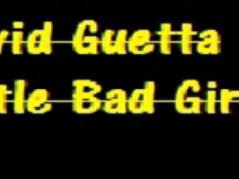 David Guetta feat. Ludacris & Taio Cruz - Little Bad Girl