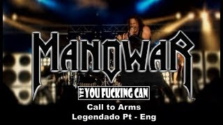 Manowar Call To Arms Legendado Pt Eng
