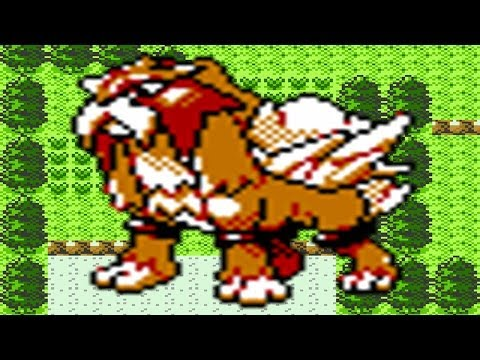 How to find Entei in Pokemon Crystal