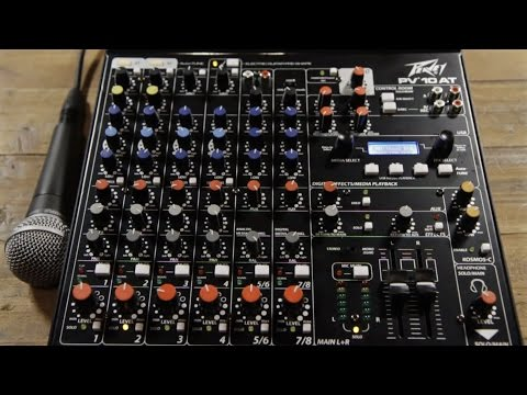 Peavey PV 10 AT mixer with Auto Tune