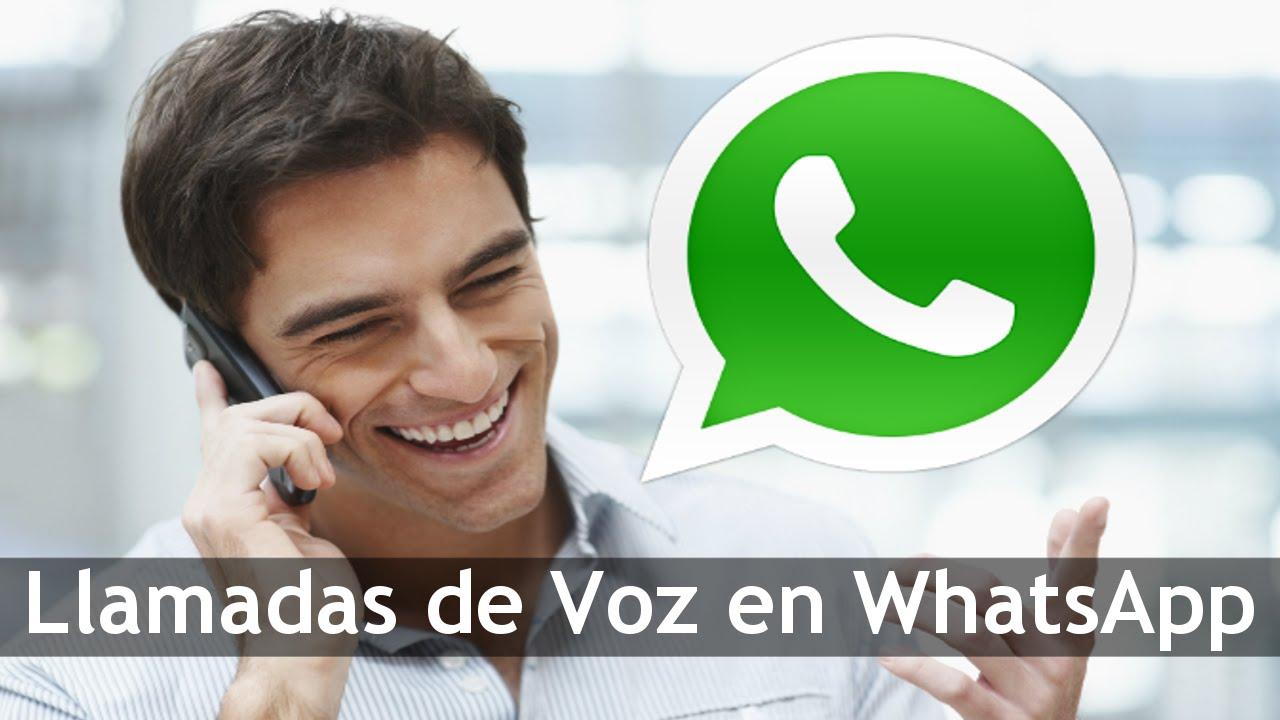 como hacer llamadas por whatsapp